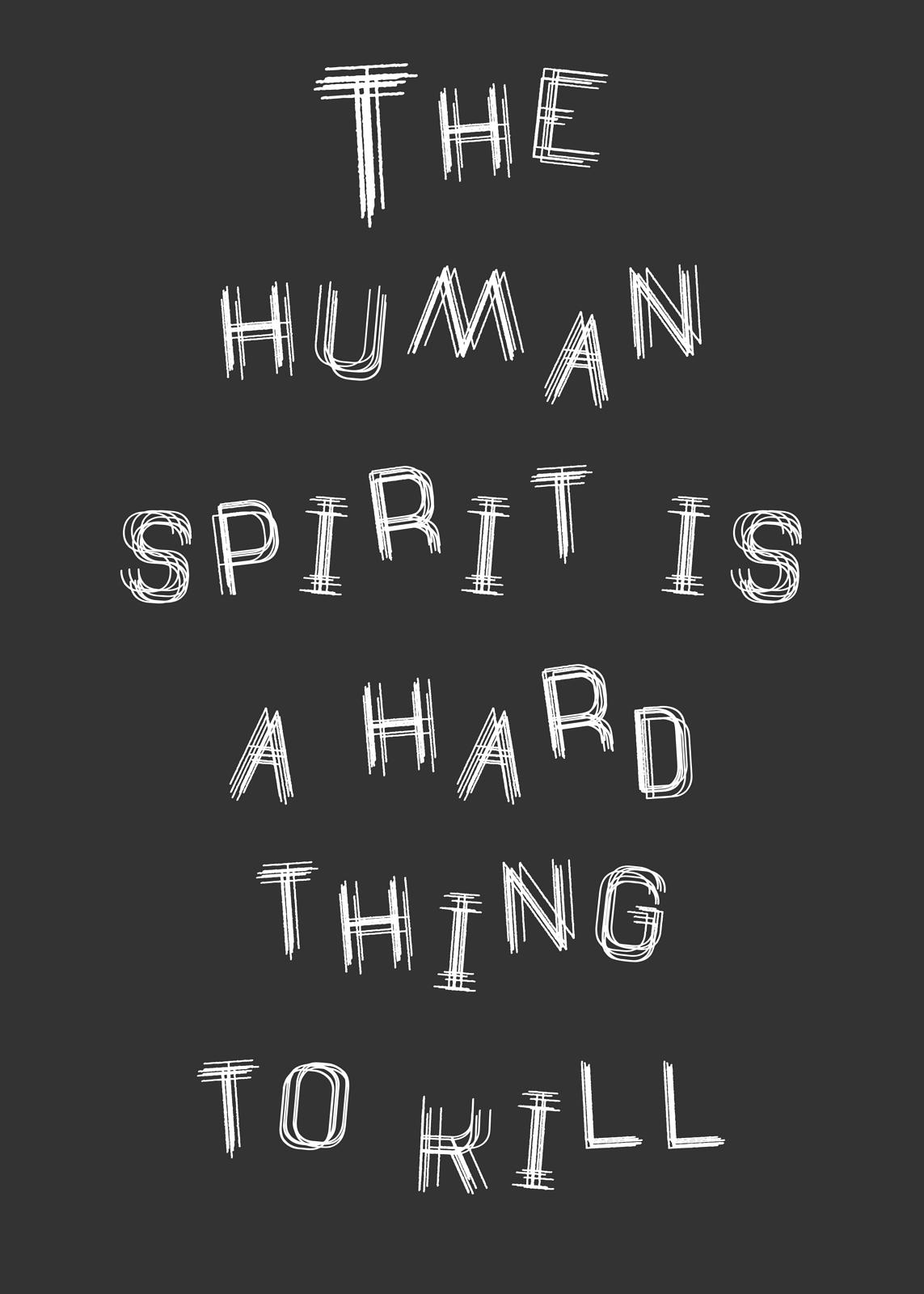Human Spirit Print