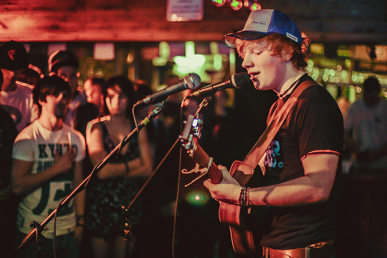 Ed Sheeran - Early local shows