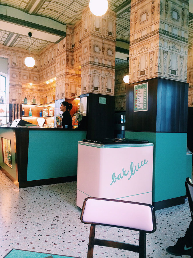 Milan - Bar Luce (Wes Anderson themed bar)