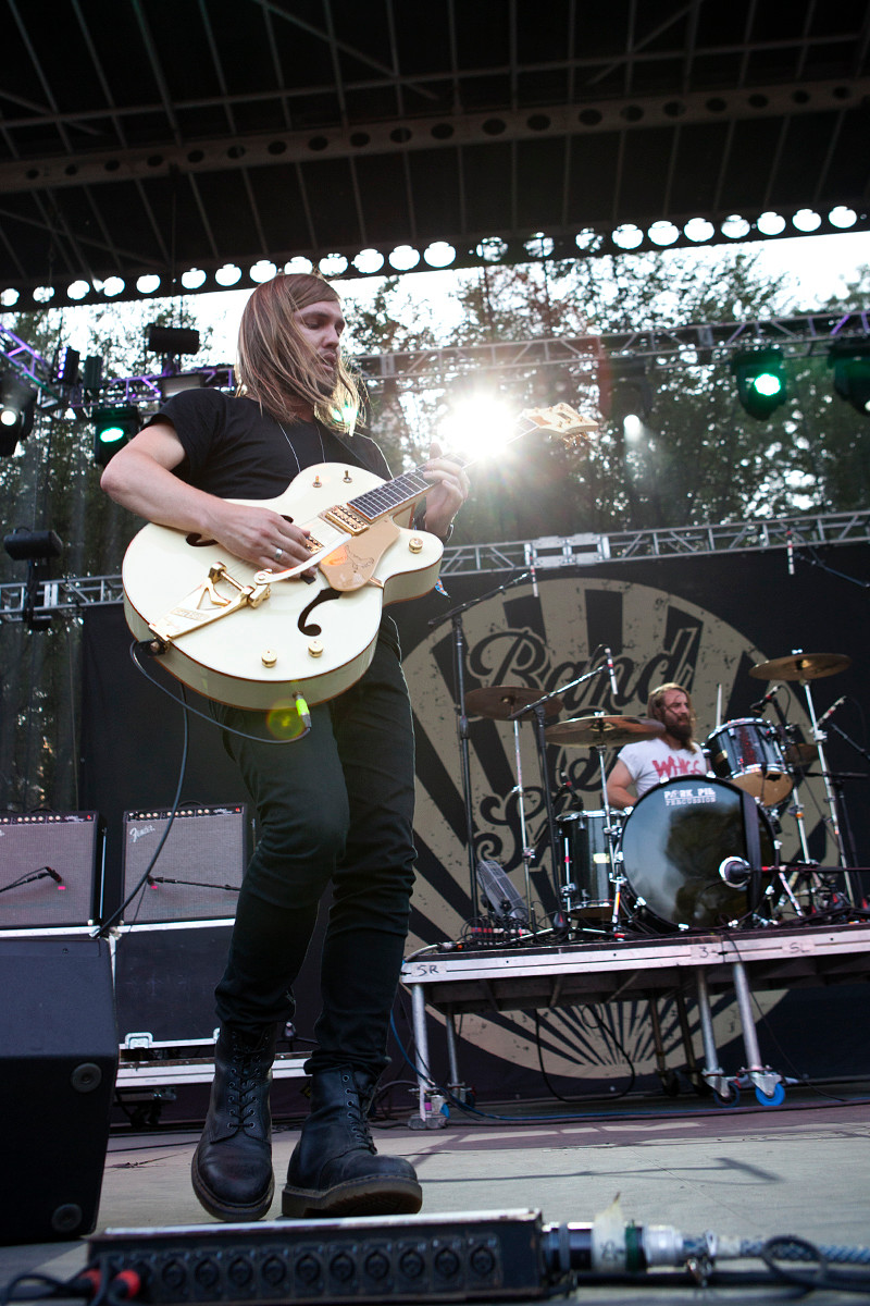 Band Of Skulls @ Lollapalooza 2012