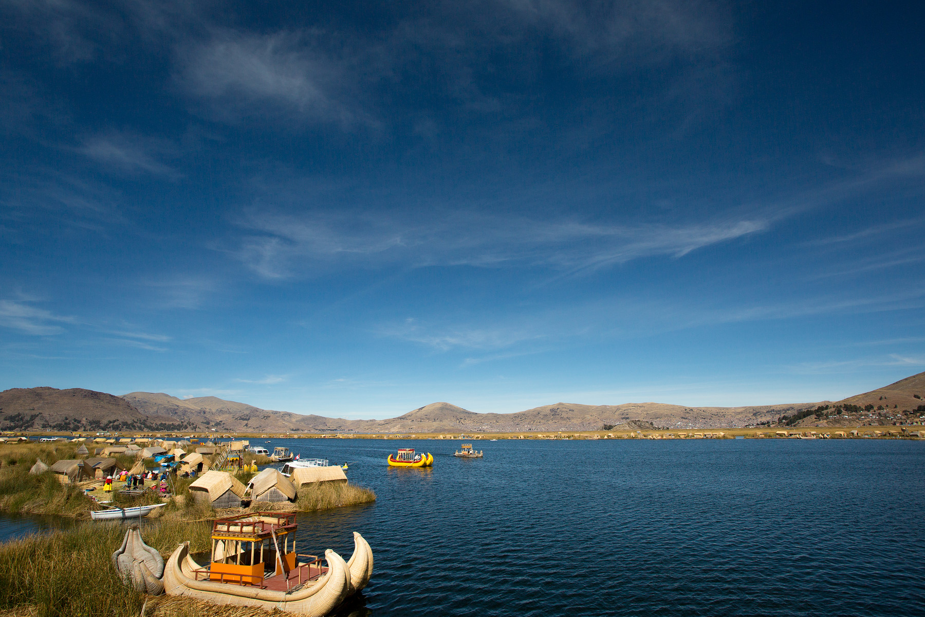 Uros Floating Islands // Peru