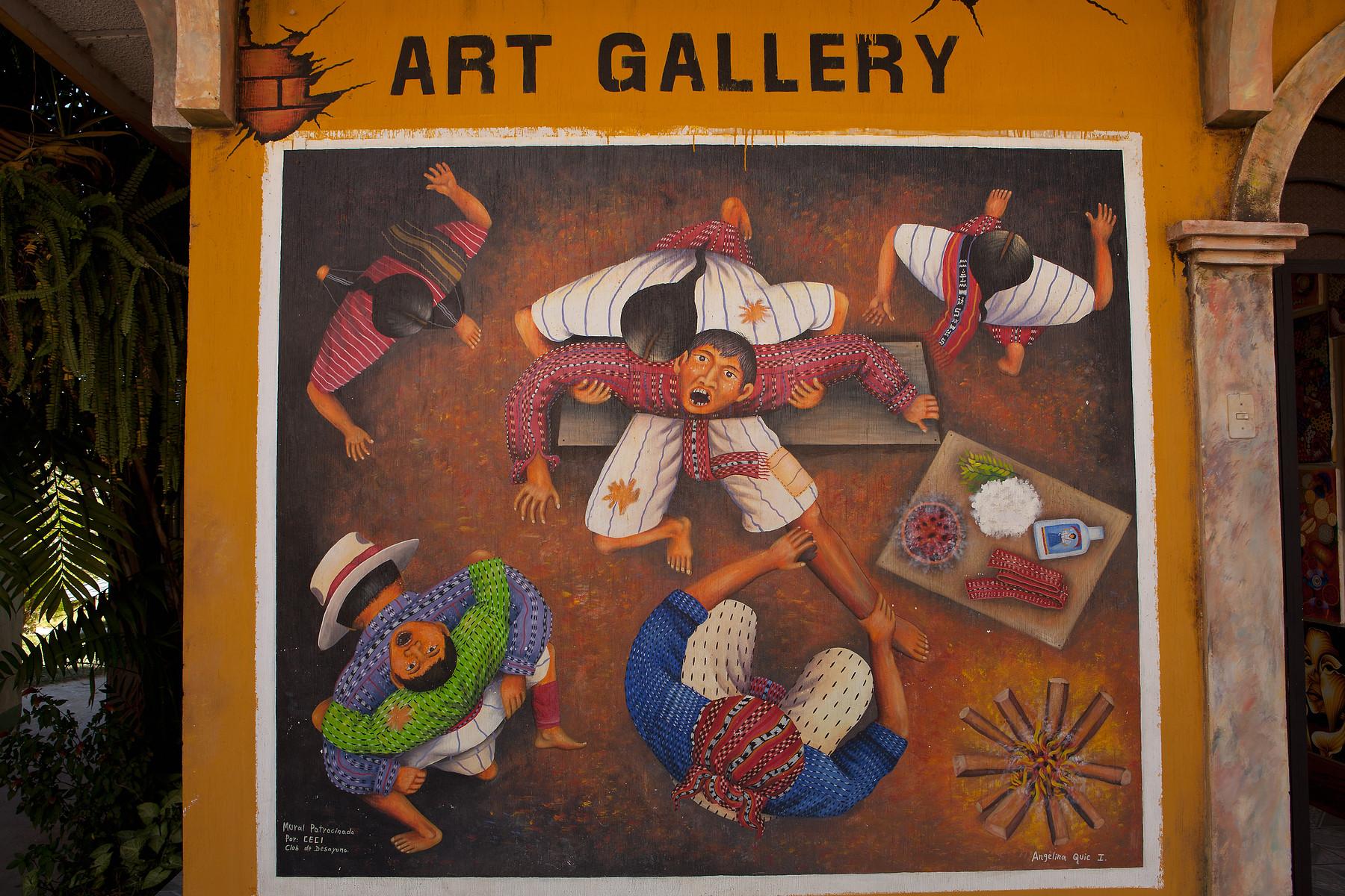 Art Gallery // San Juan, Lake Atitlan // Guatemala