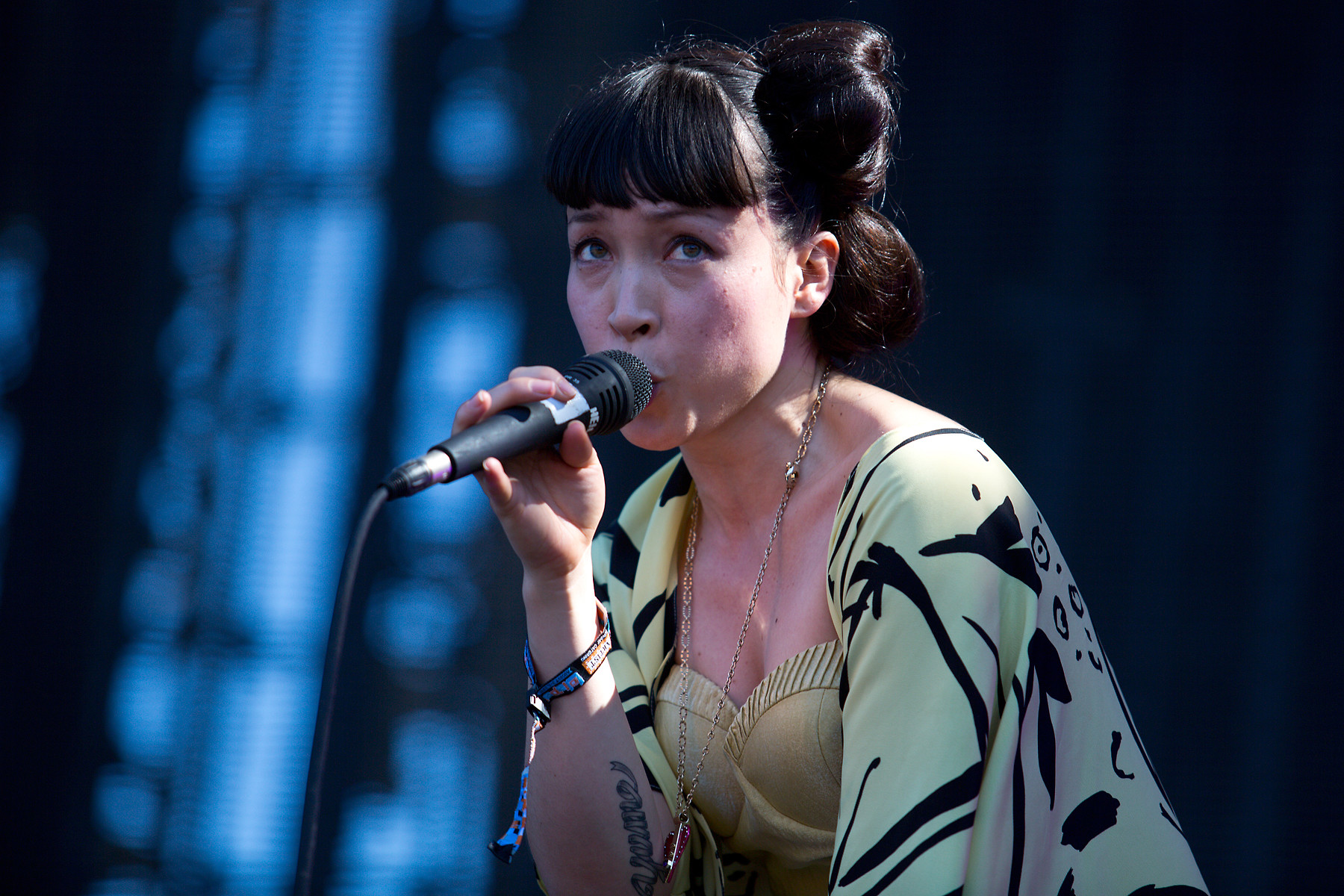 Little Dragon @  Lollapalooza 2012