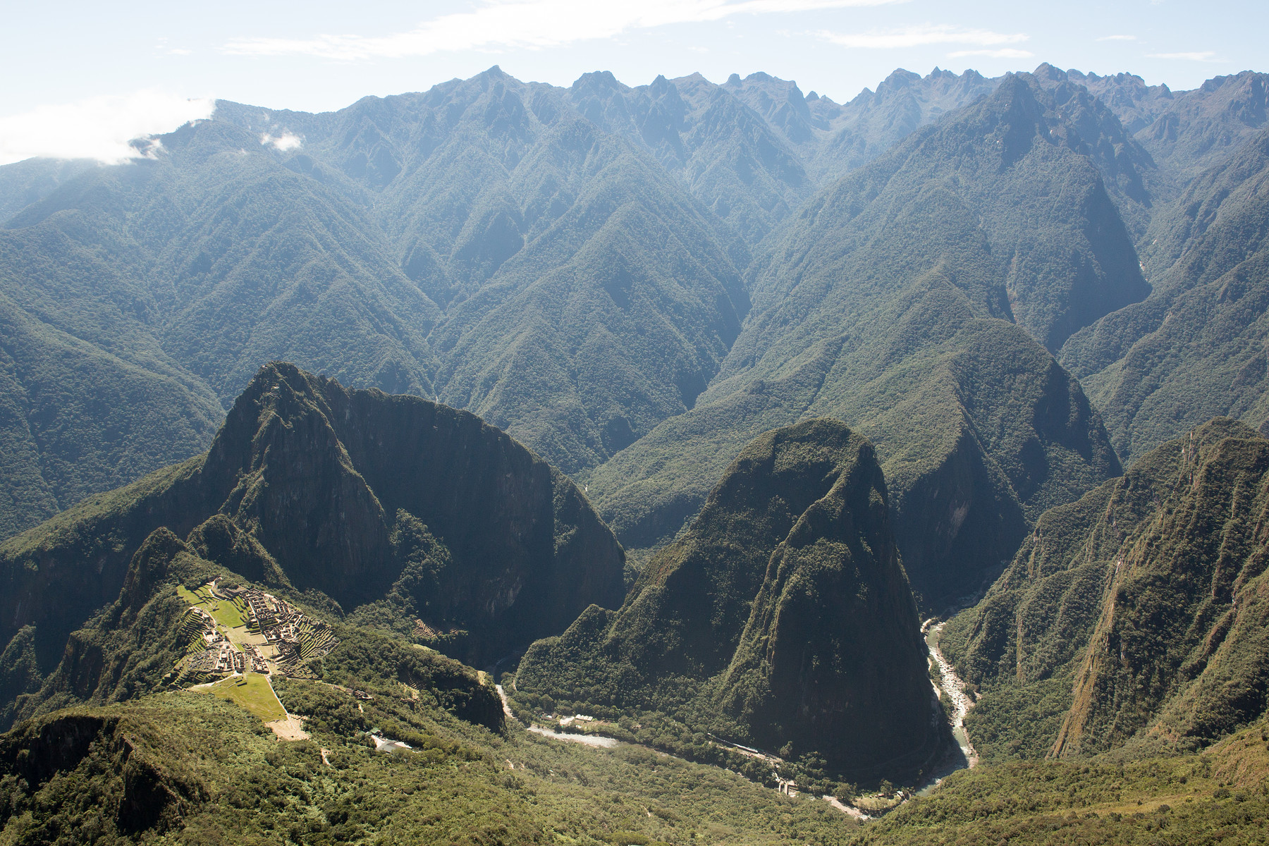 Machu Mountain View // Peru