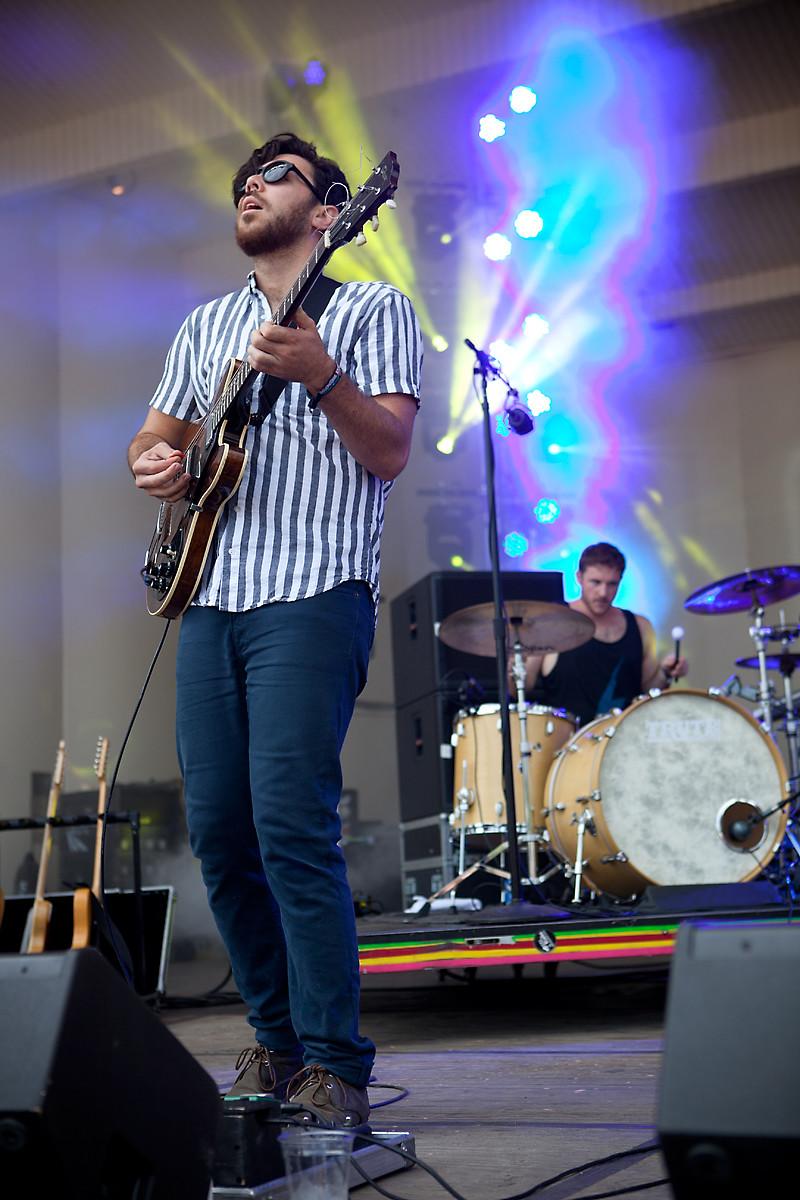 Milo Greene @ Lollapalooza 2012