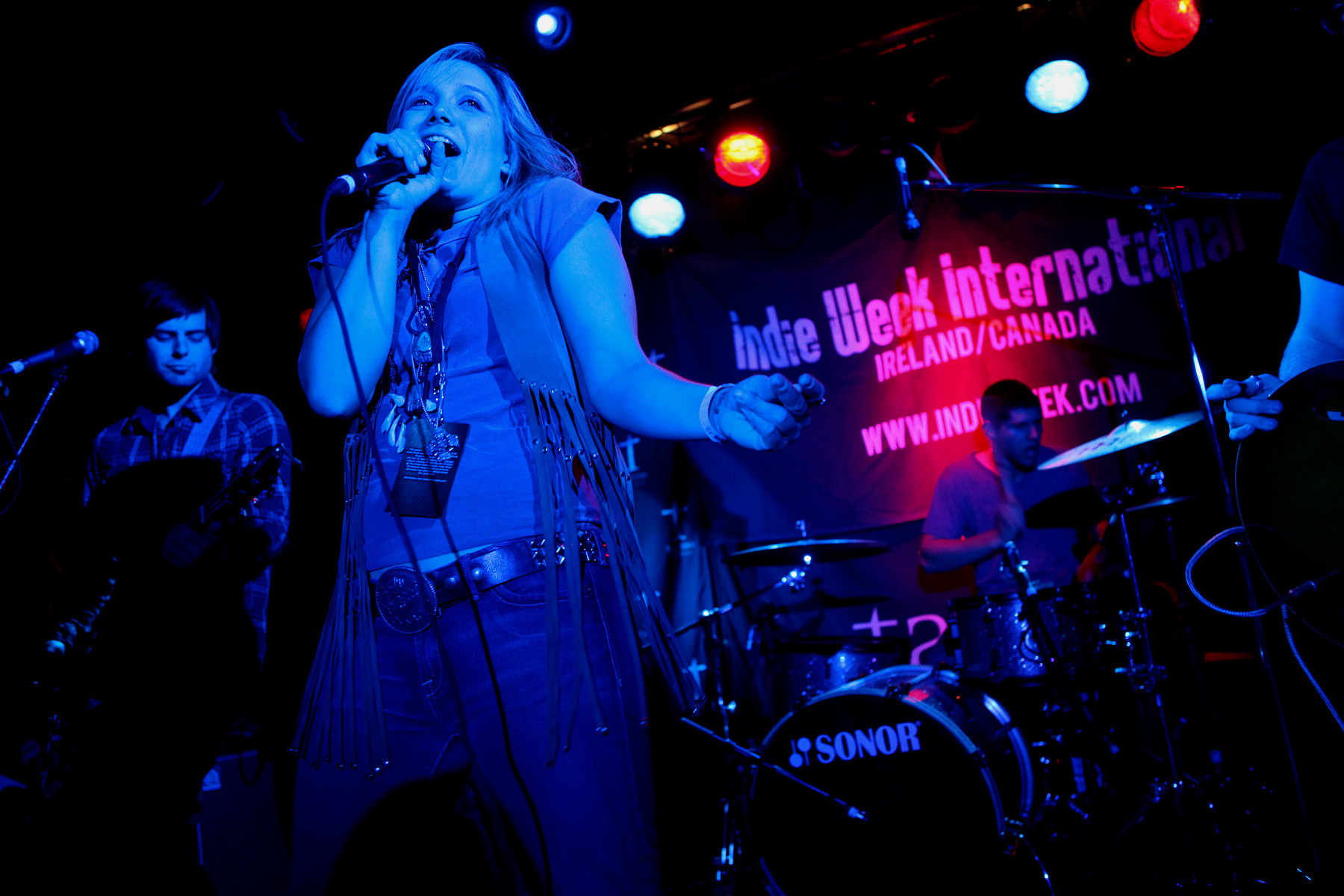 Serena Pryne & The Mandevilles @ Indie Week 2010 Finals