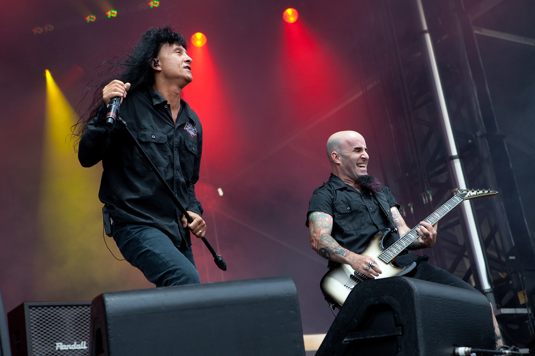 Anthrax @ Heavy T.O. 2011
