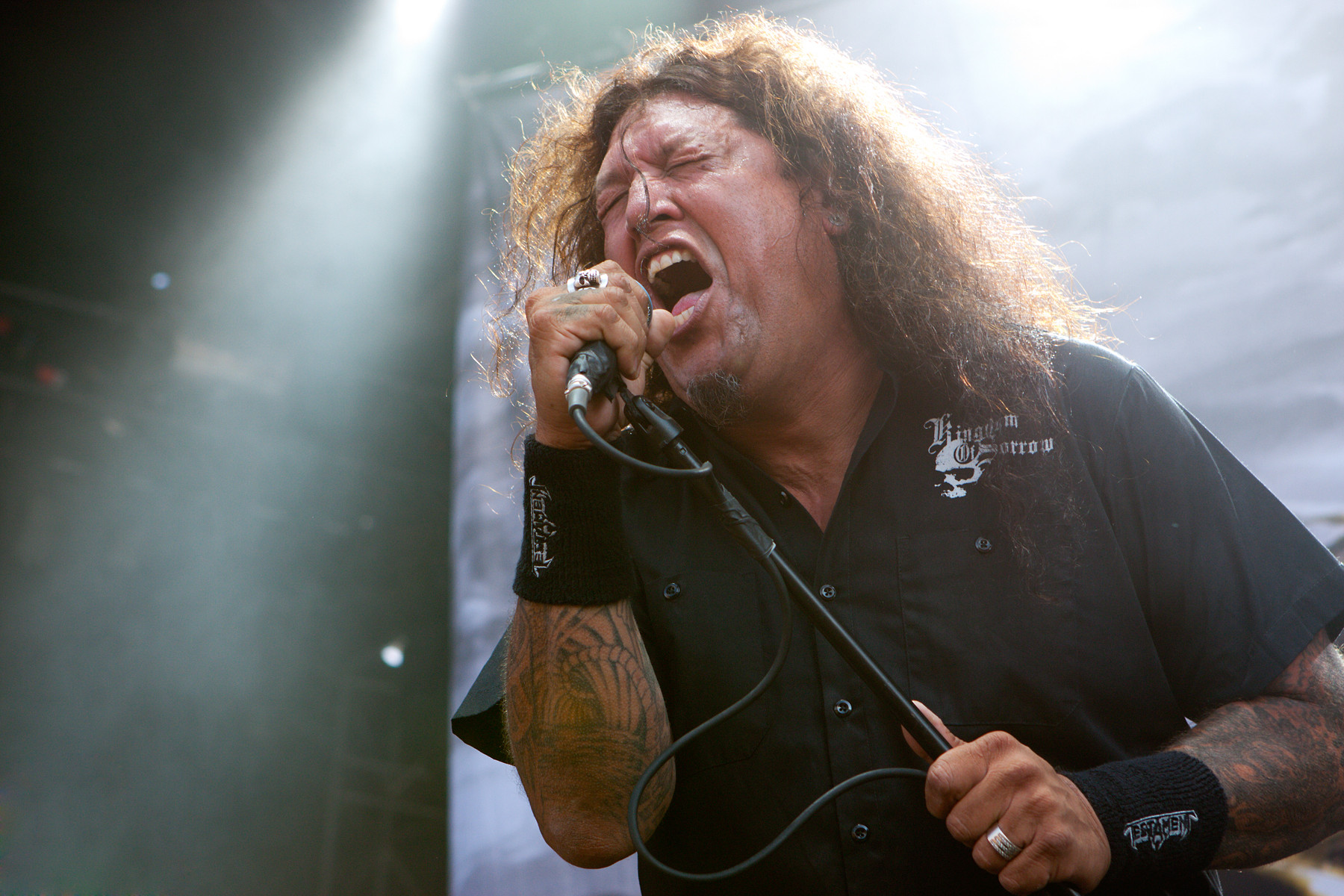 Testament @ Heavy T.O. 2011