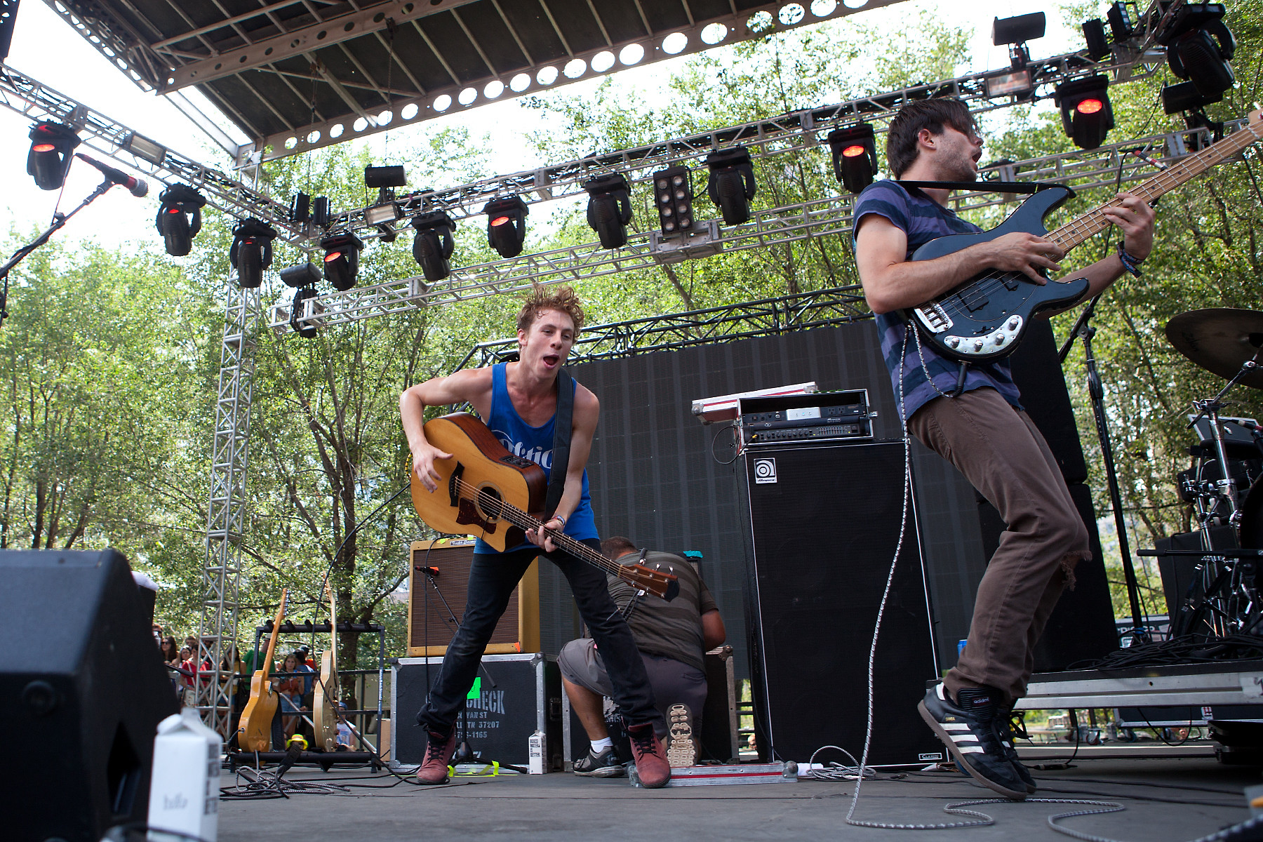 Givers @ Lollapalooza 2012