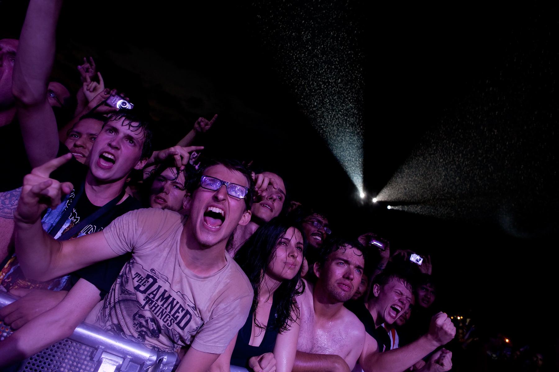 Megadeth fans @ Heavy T.O. 2011