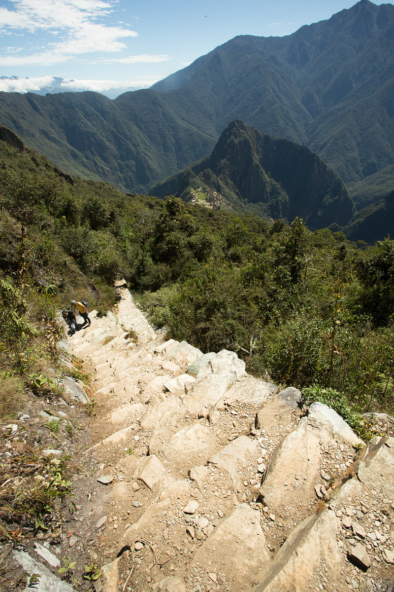 Machu Mountain Ascent // Peru