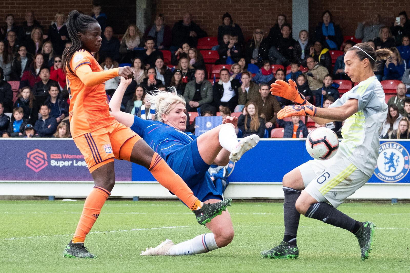 Chelsea Women Vs Lyon Féminines