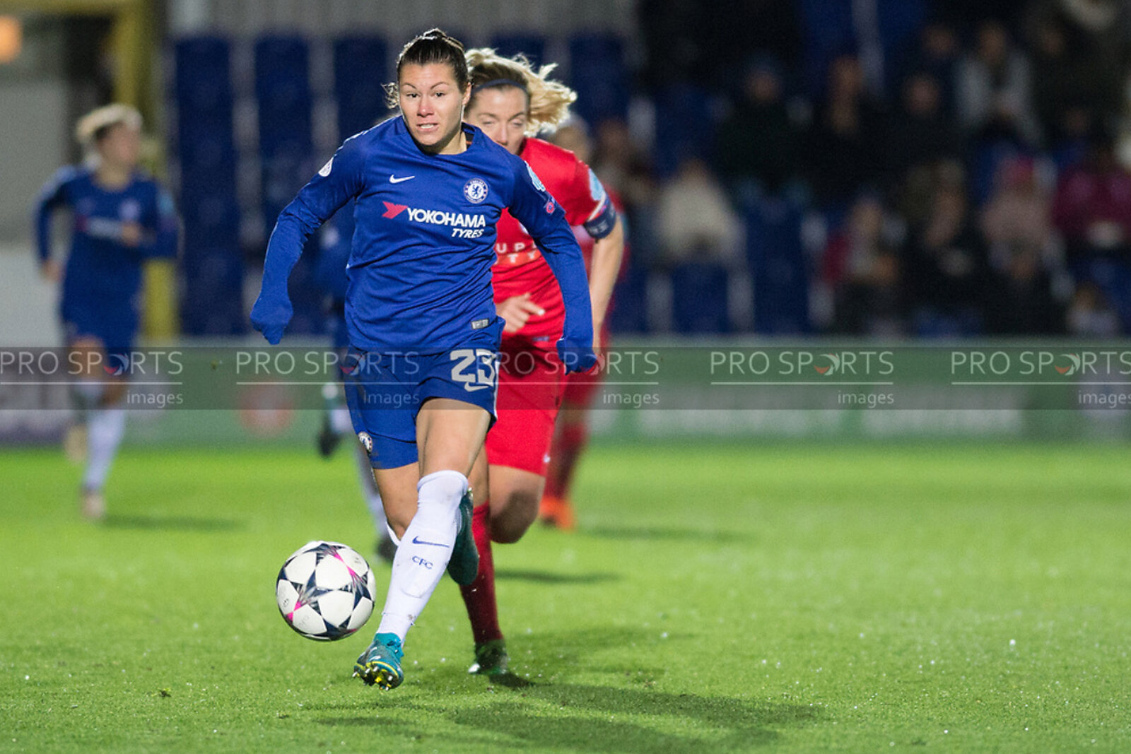 Chelsea Ladies Vs Montpellier
