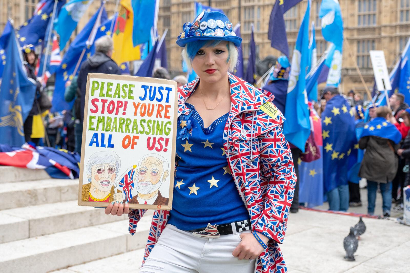 Anti-Brexit Protesters