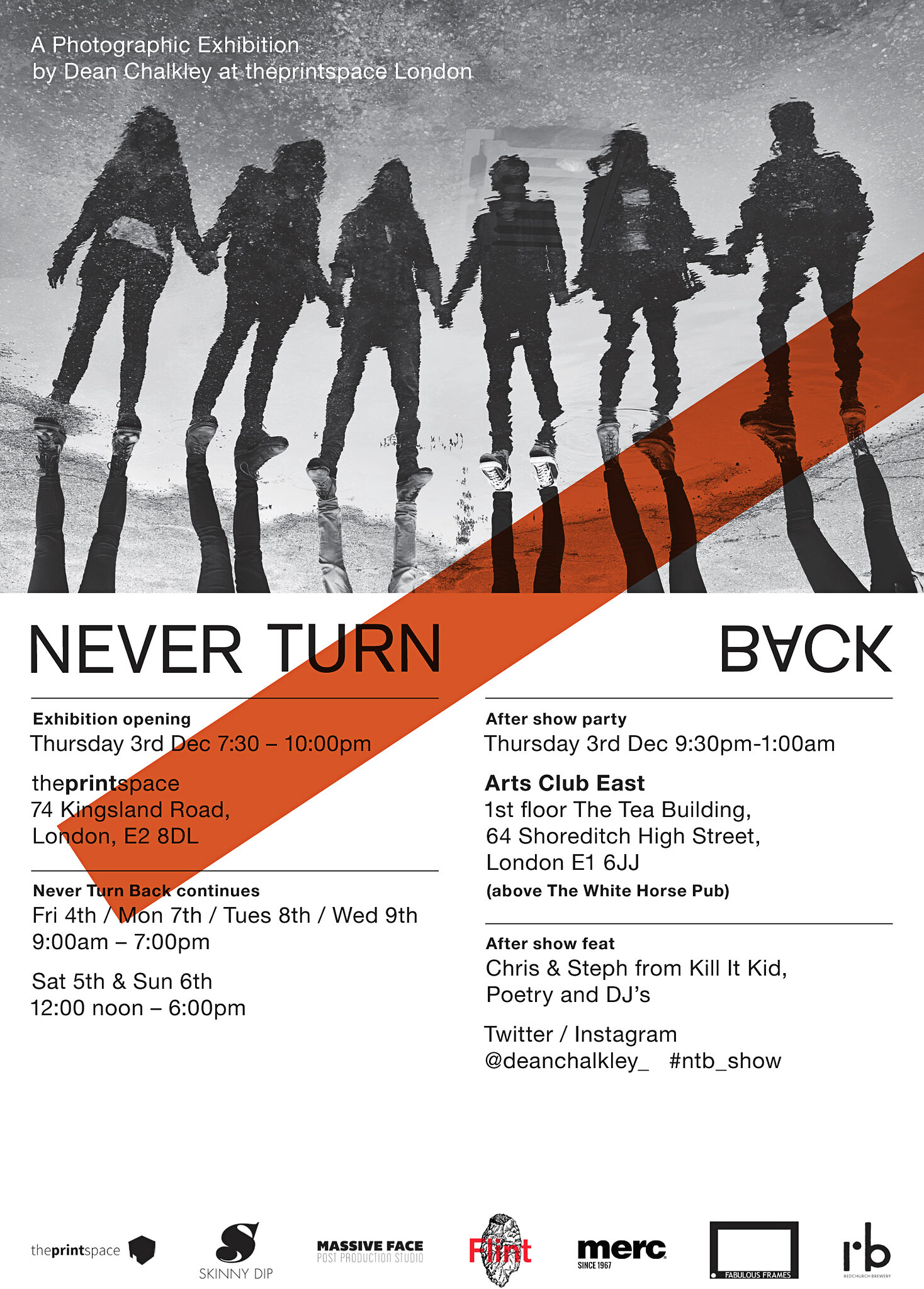 Never Turn Back: Official Invitation