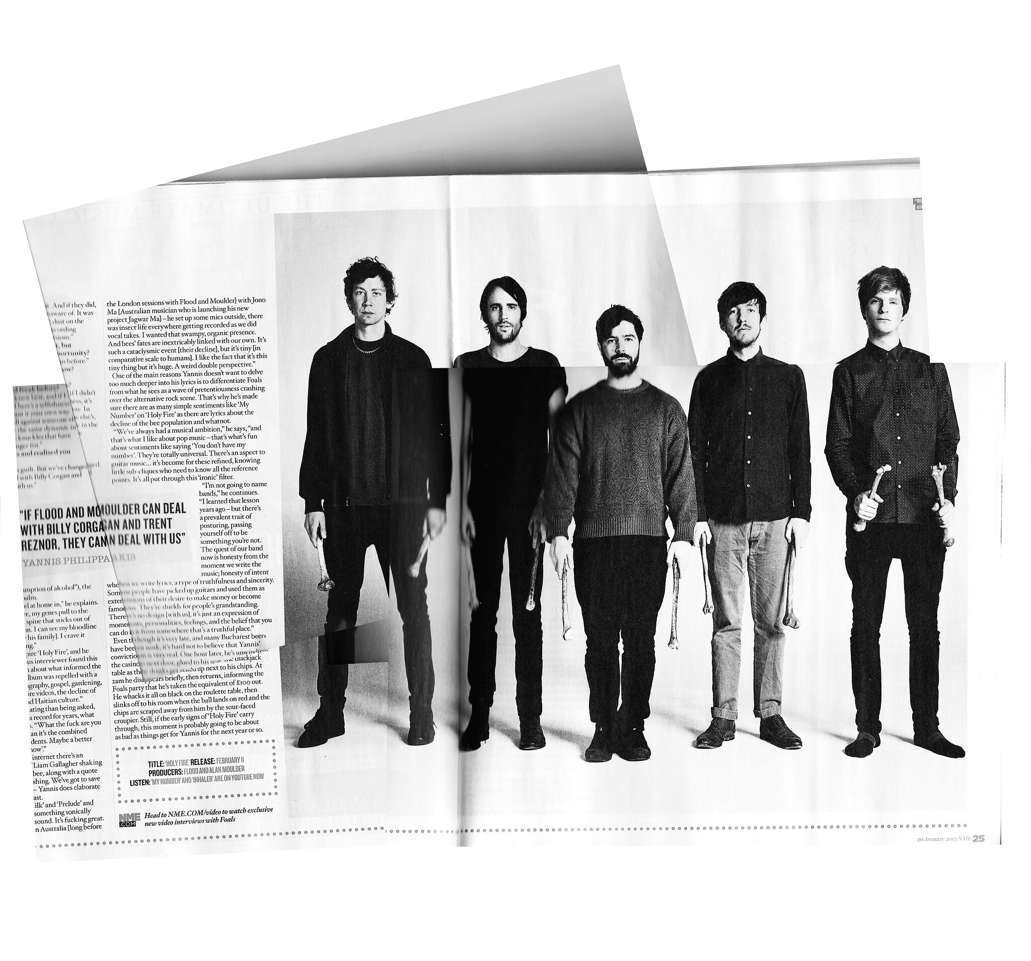 foals for the nme