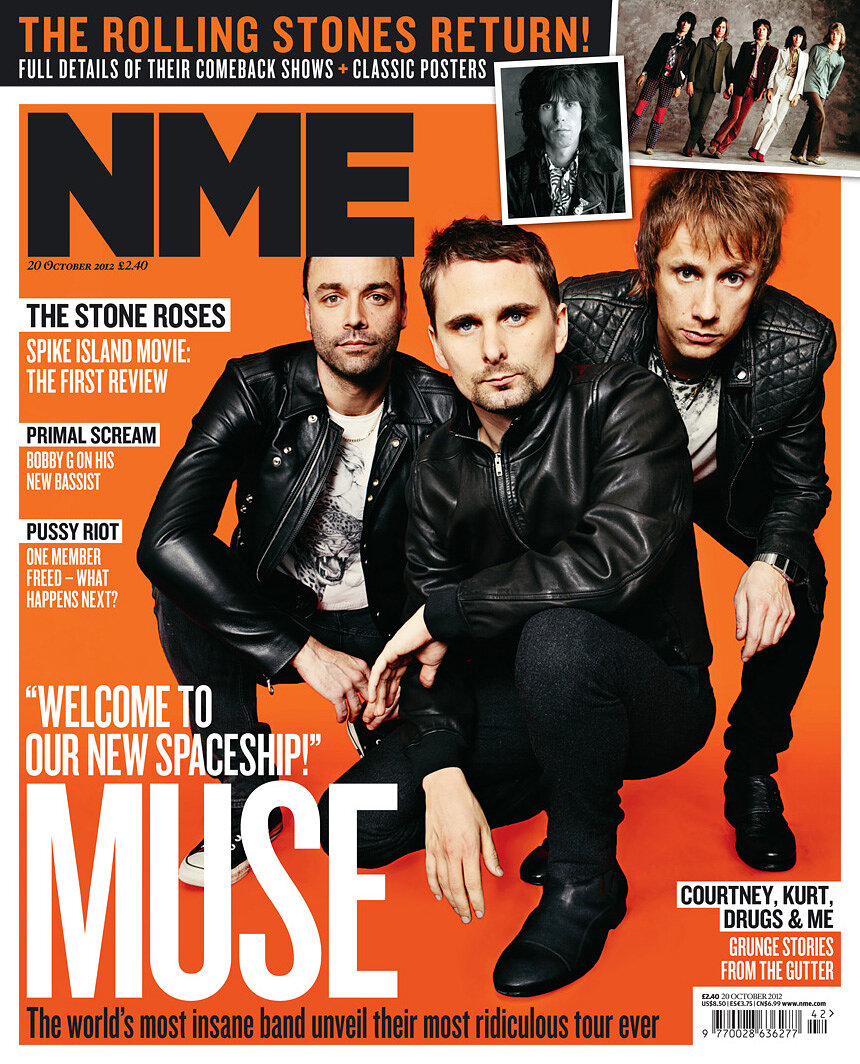 Muse NME cover 2012
