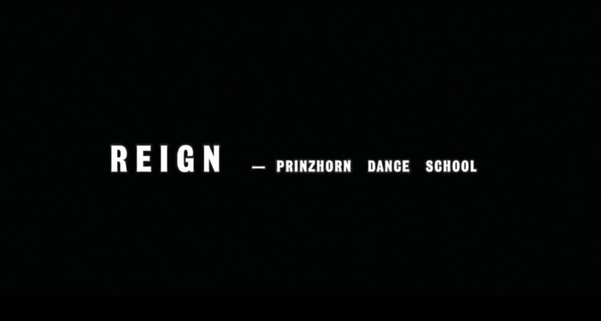 prinzhorn dance school film for Reign