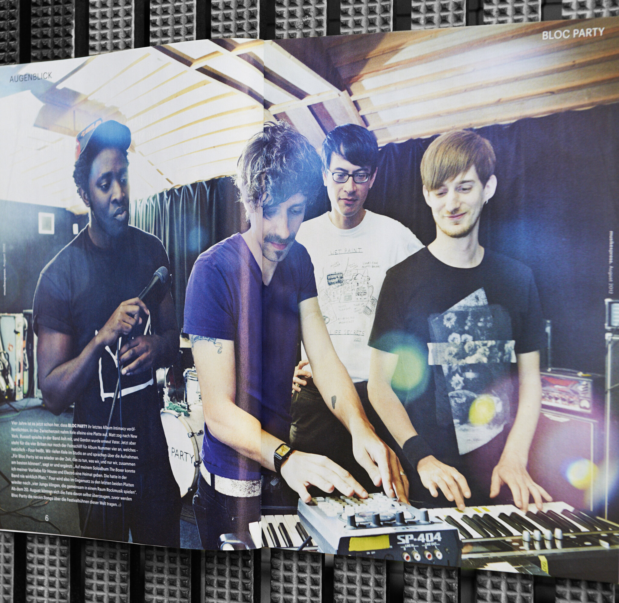 musikexpress bloc party feature