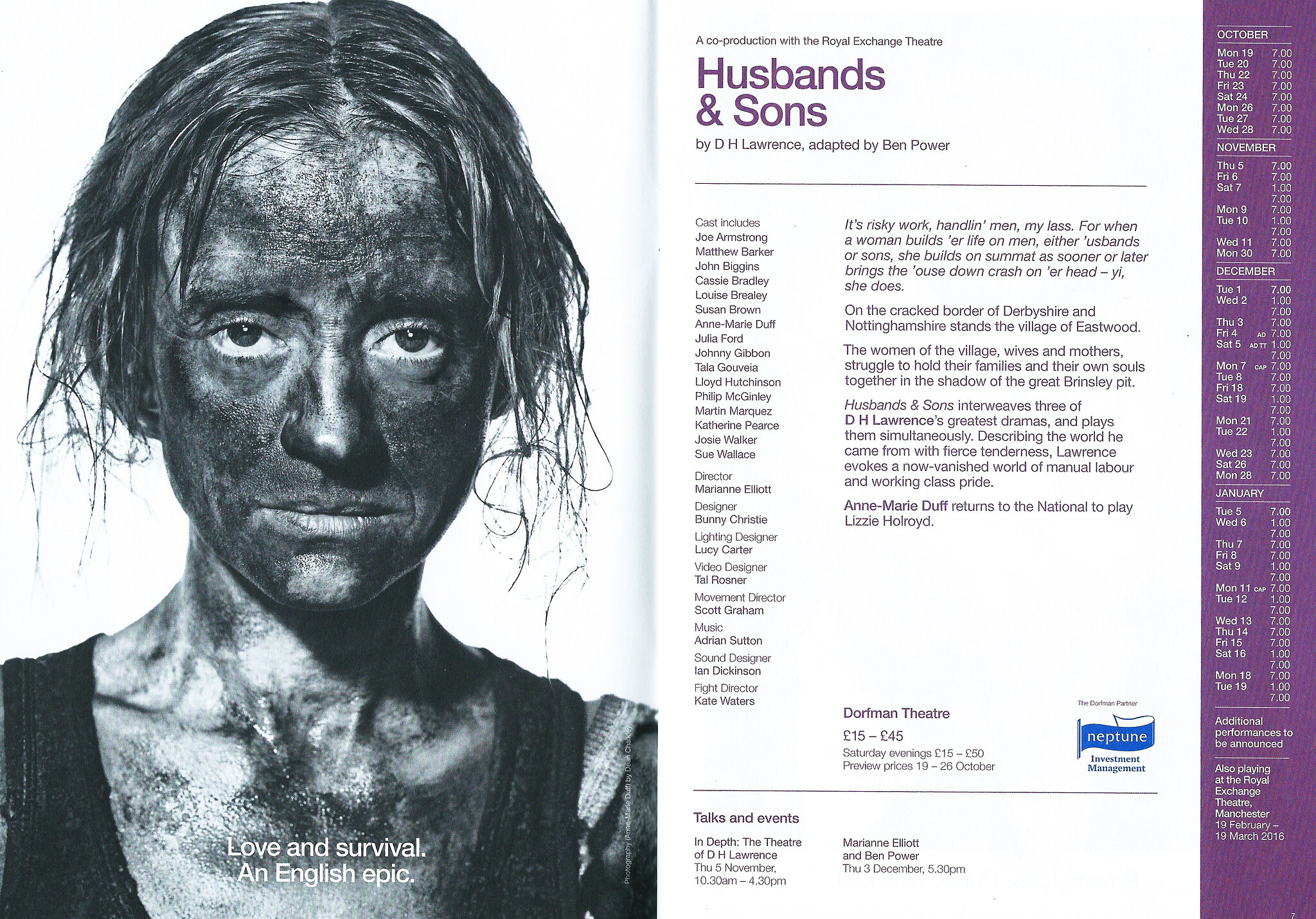 Husbands and Sons - National Threatre