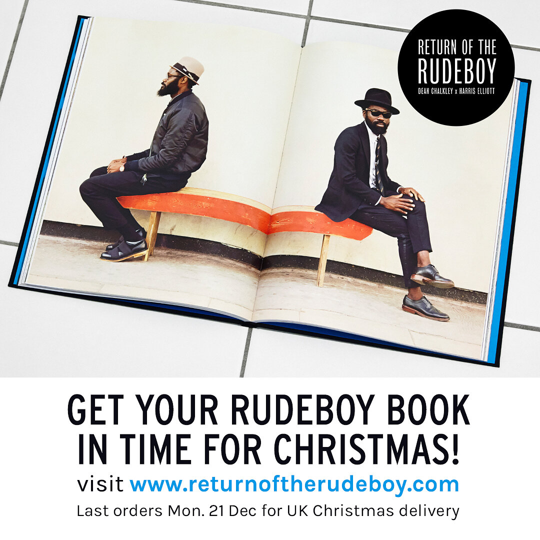 Rudeboy Book Christmas Cut Off