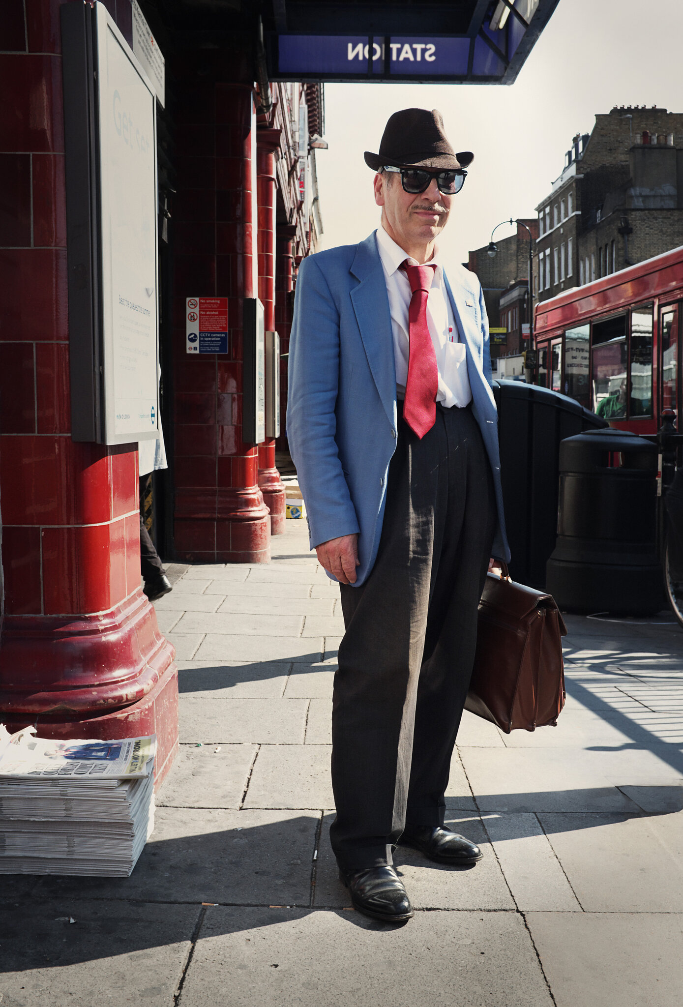 dapper Italian chap in Kentish Town