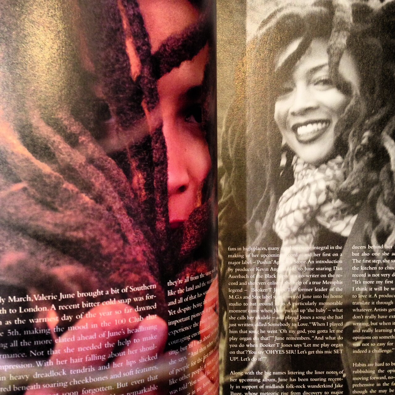valerie june 125 magazine