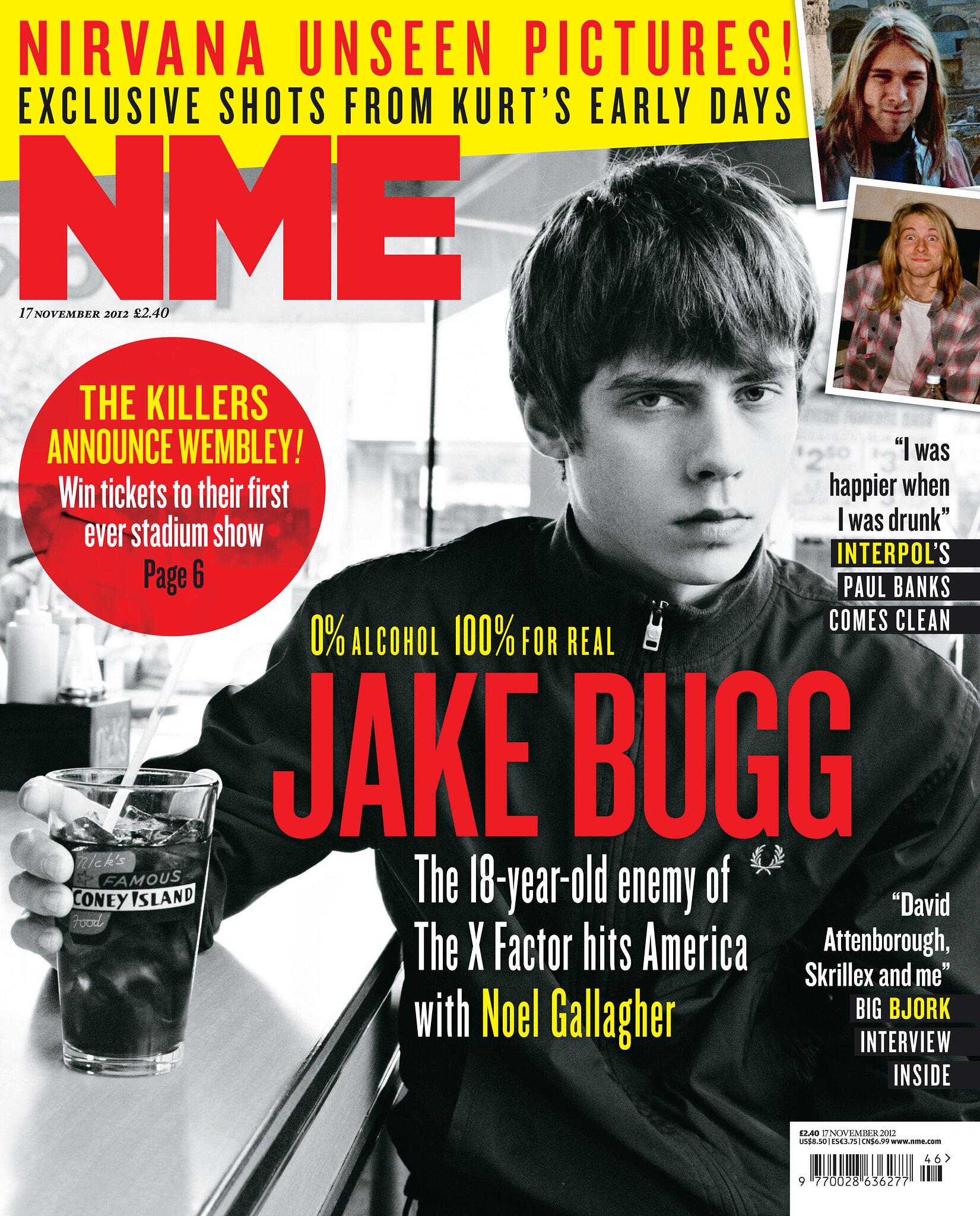 Jake Bugg NME cover