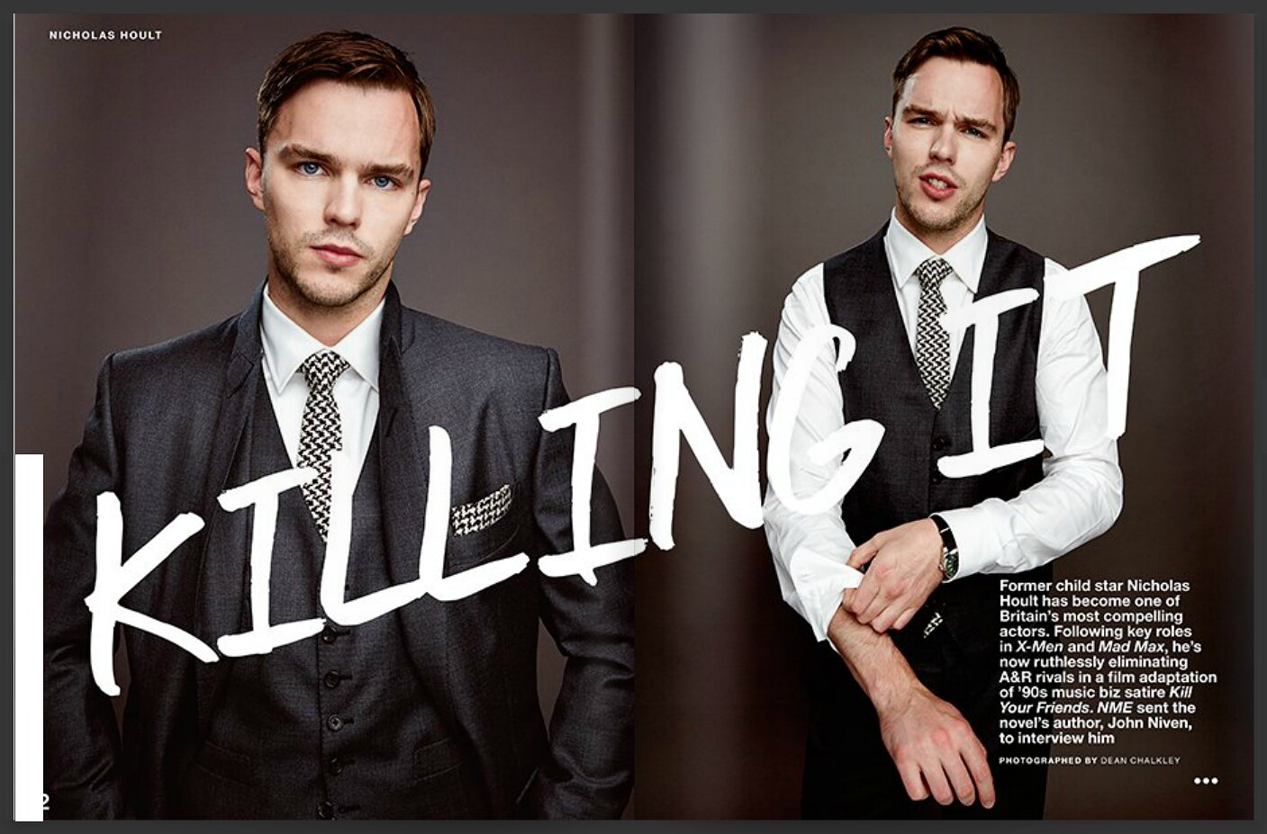 Nicholas Hoult Cover nme