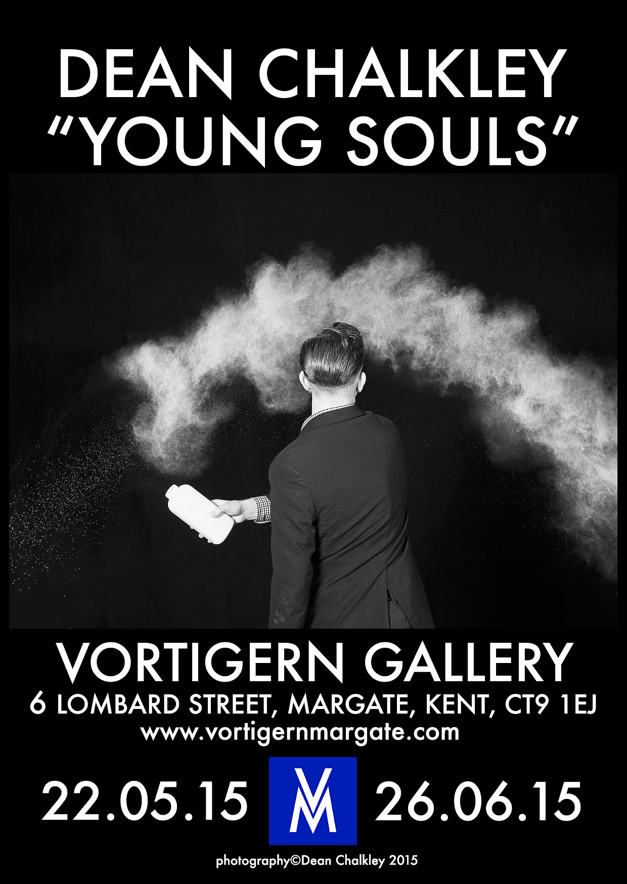 Vortigern exhibition poster