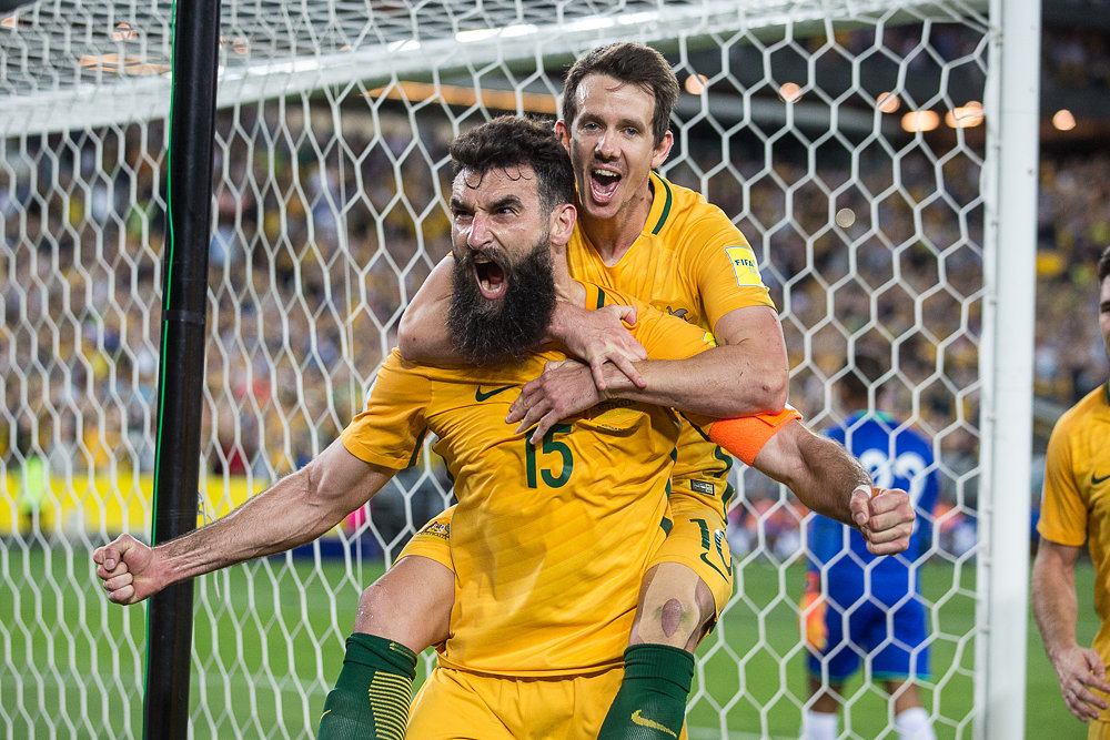 Mile Jedinak - Celebration