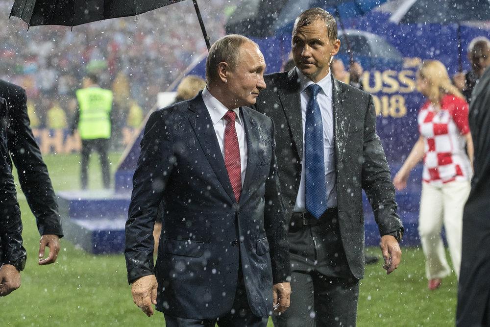 Russian President Vladimir Putin  - FIFA World Cup 2018