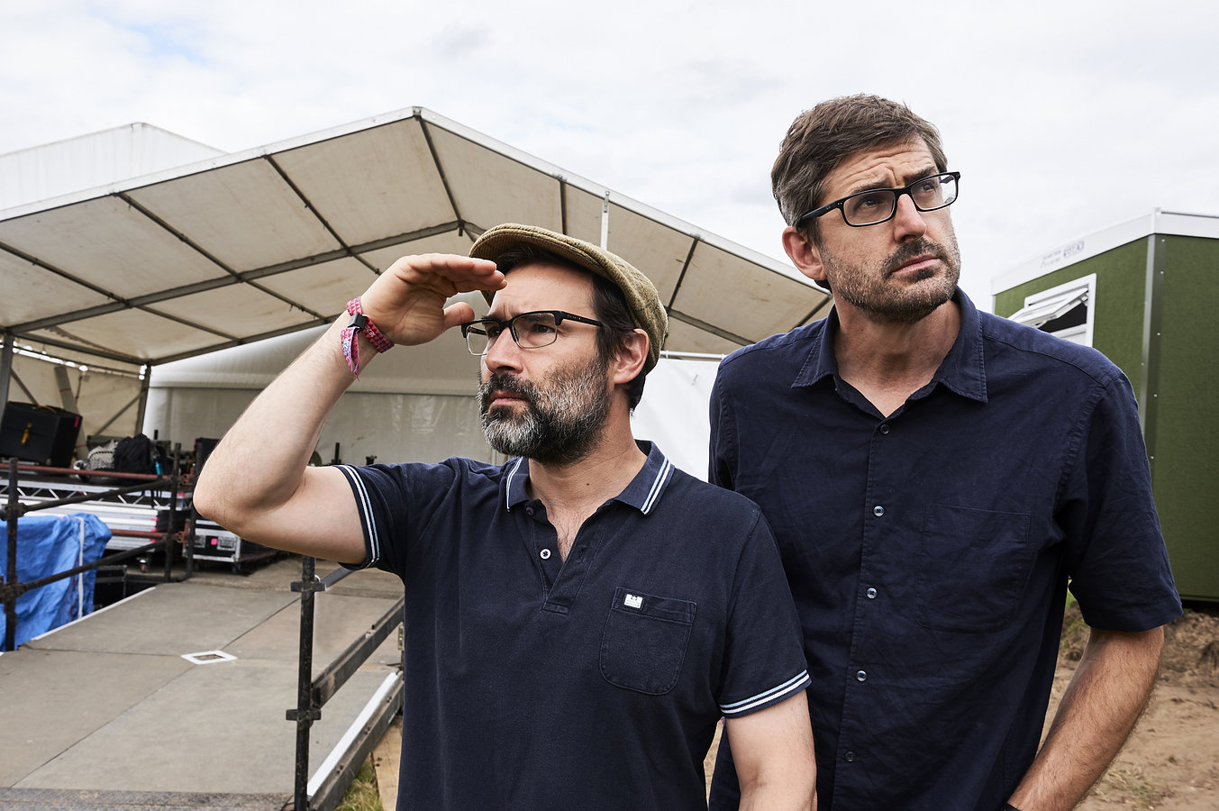 Adam Buxton and Louis Theroux