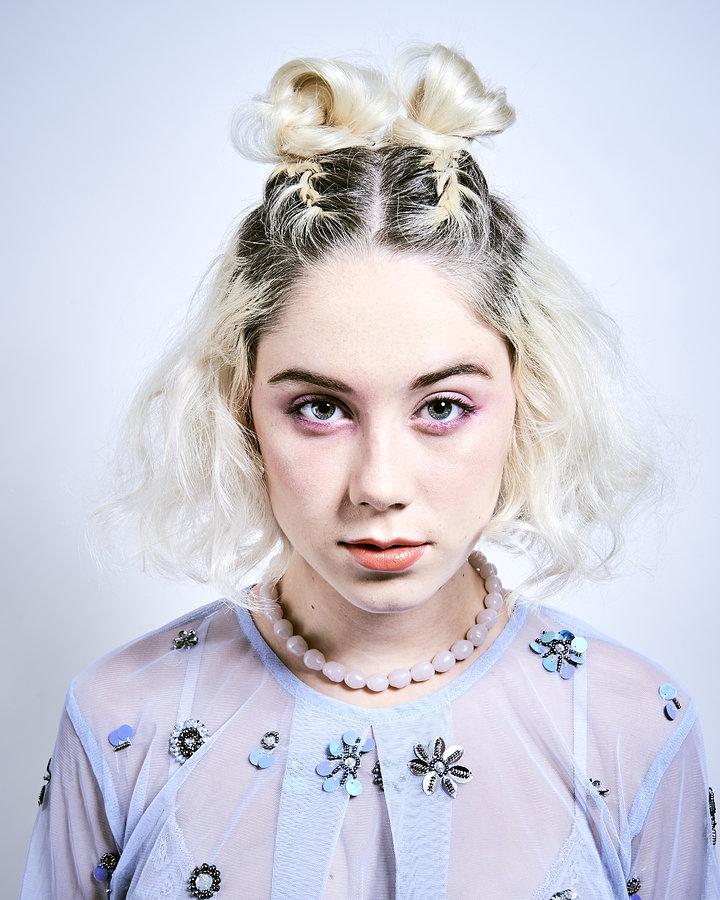 Model Poppy Hughes