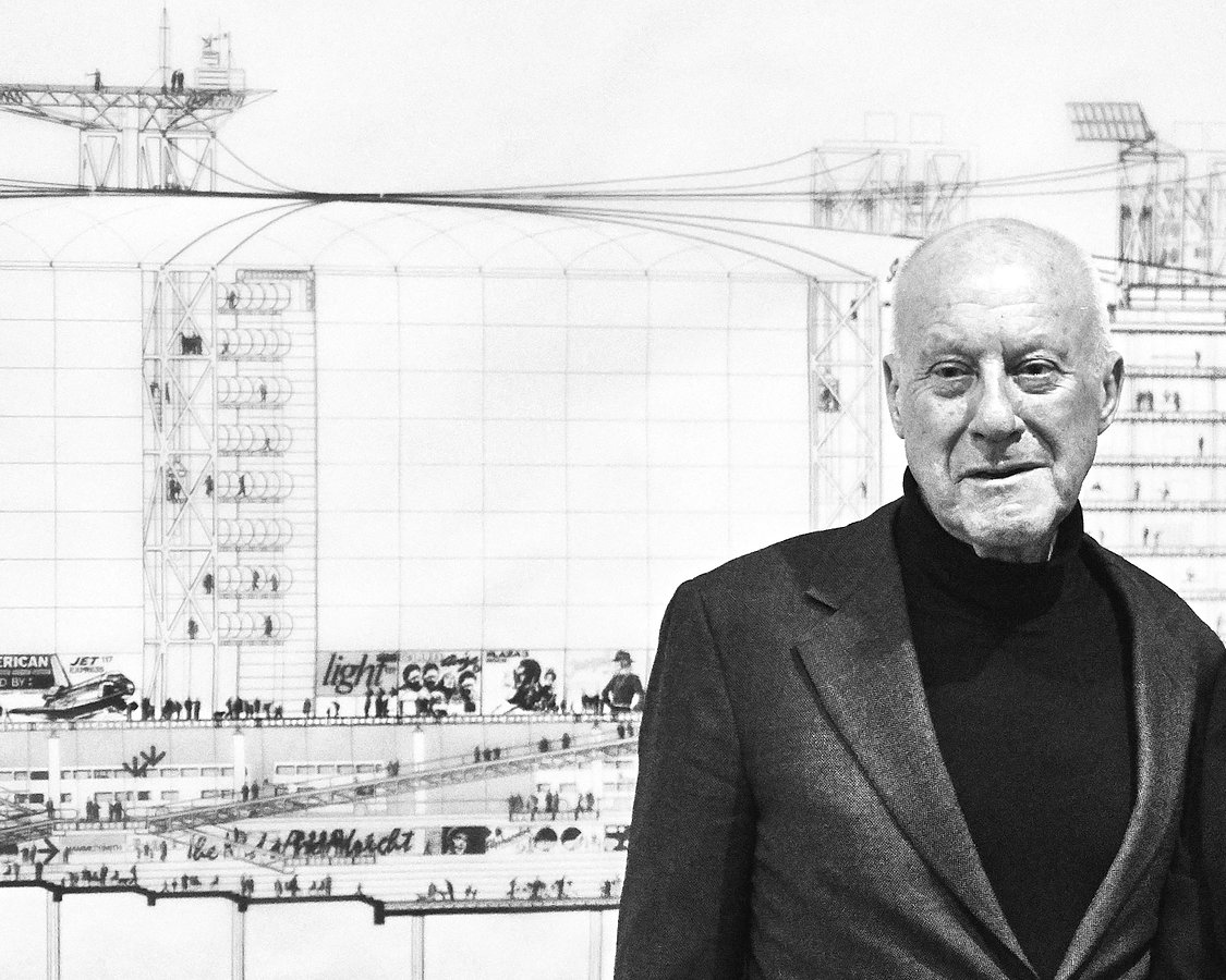 Sir Norman Foster, SCVA Super Structures The New Achitecture 1960-1990