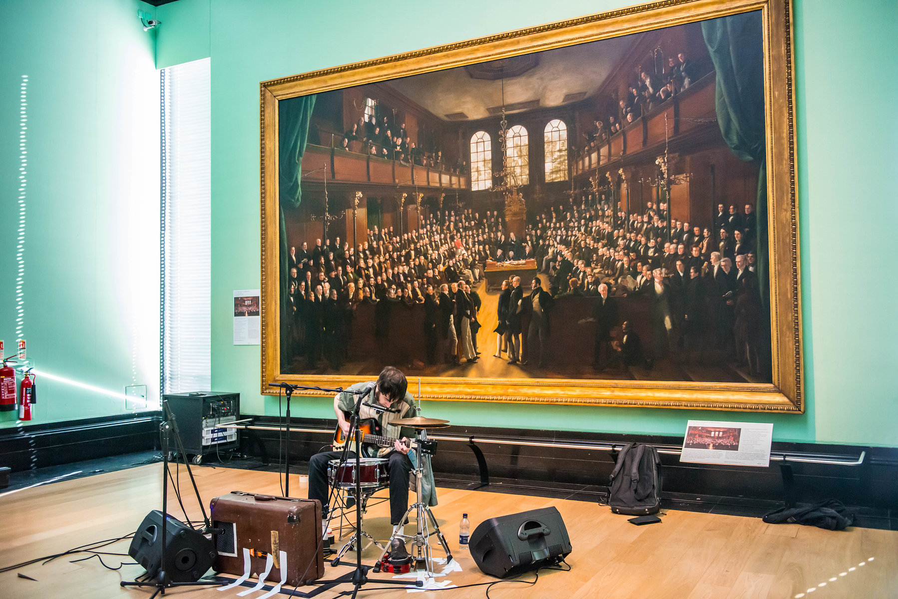 One Man Destruction Show at the National Portrait Gallery, 1st July 2016