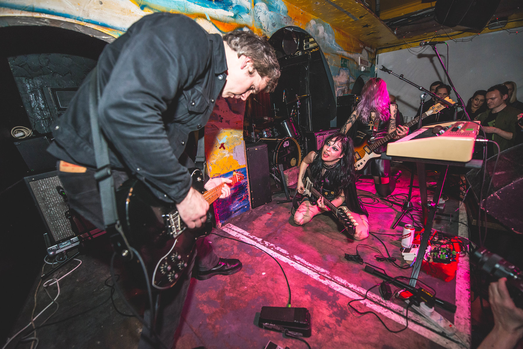 Death Valley Girls at the Shacklewell Arms for Bad Vibrations on February 3rd, 2017