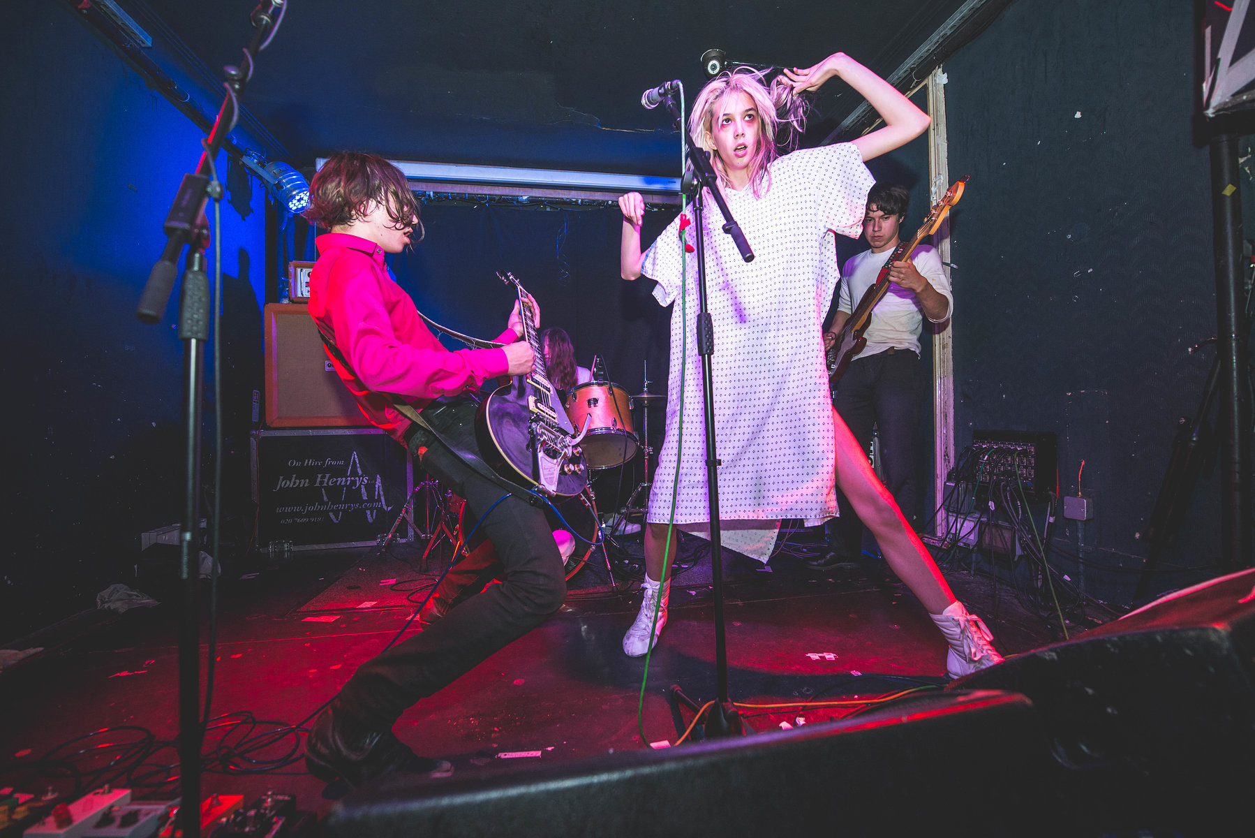 Starcrawler at the Old Blue Last for DIY, May 2017