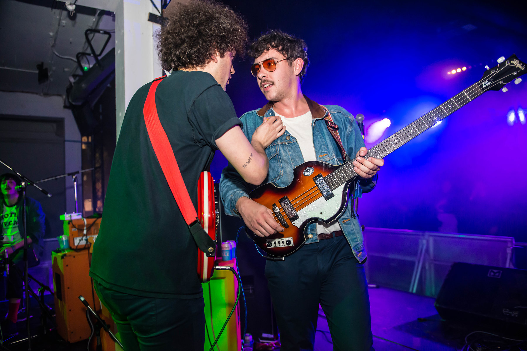 The Parrots at the Fluffer Pit Party No.7, London, May 2016.