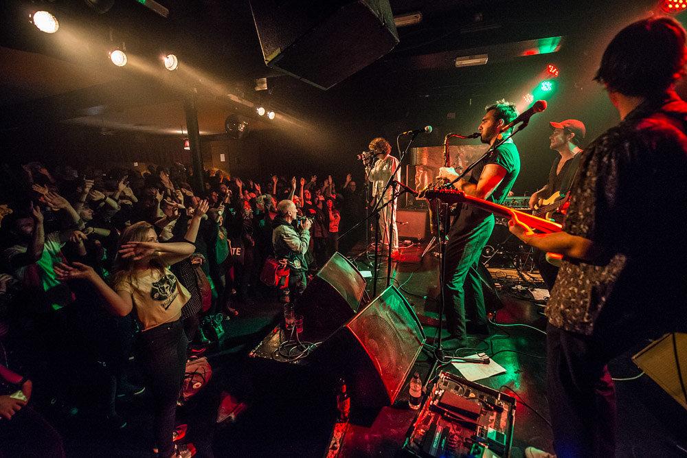 M.I.L.K. at the Lexington for Ja Ja Ja, October 2016