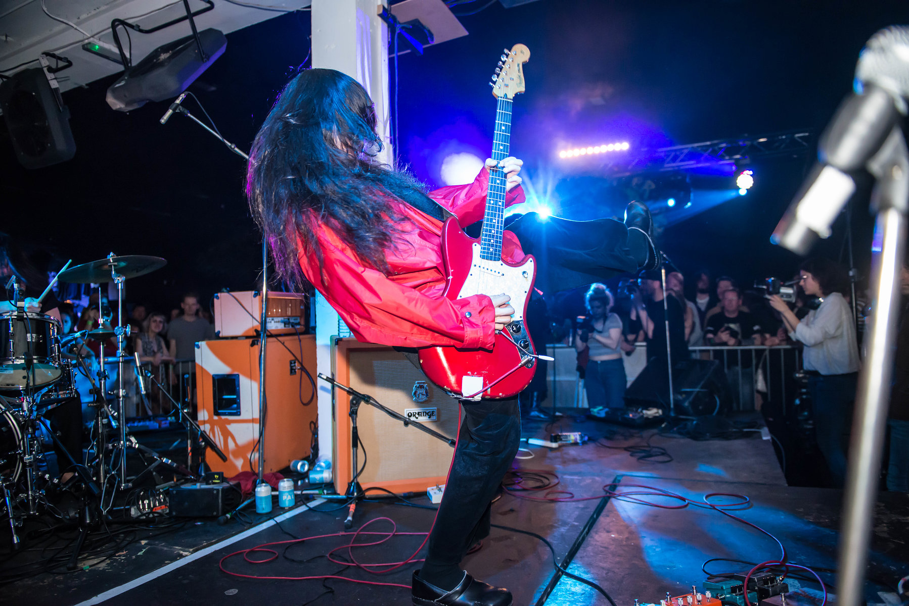 Bo Ningen at the Fluffer Pit Party No.7, May 2016
