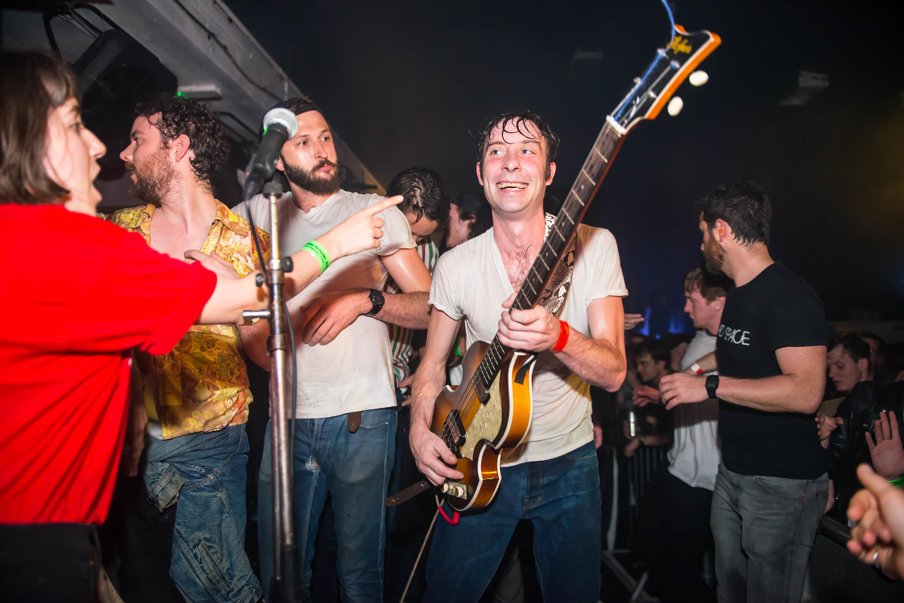 The Black Lips at the Fluffer Pit Party No.7, May 2016
