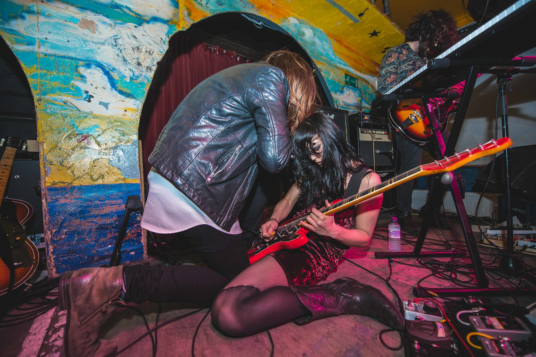 Saint Agnes supporting Death Valley Girls at the Shacklewell Arms on February 3rd, 2017
