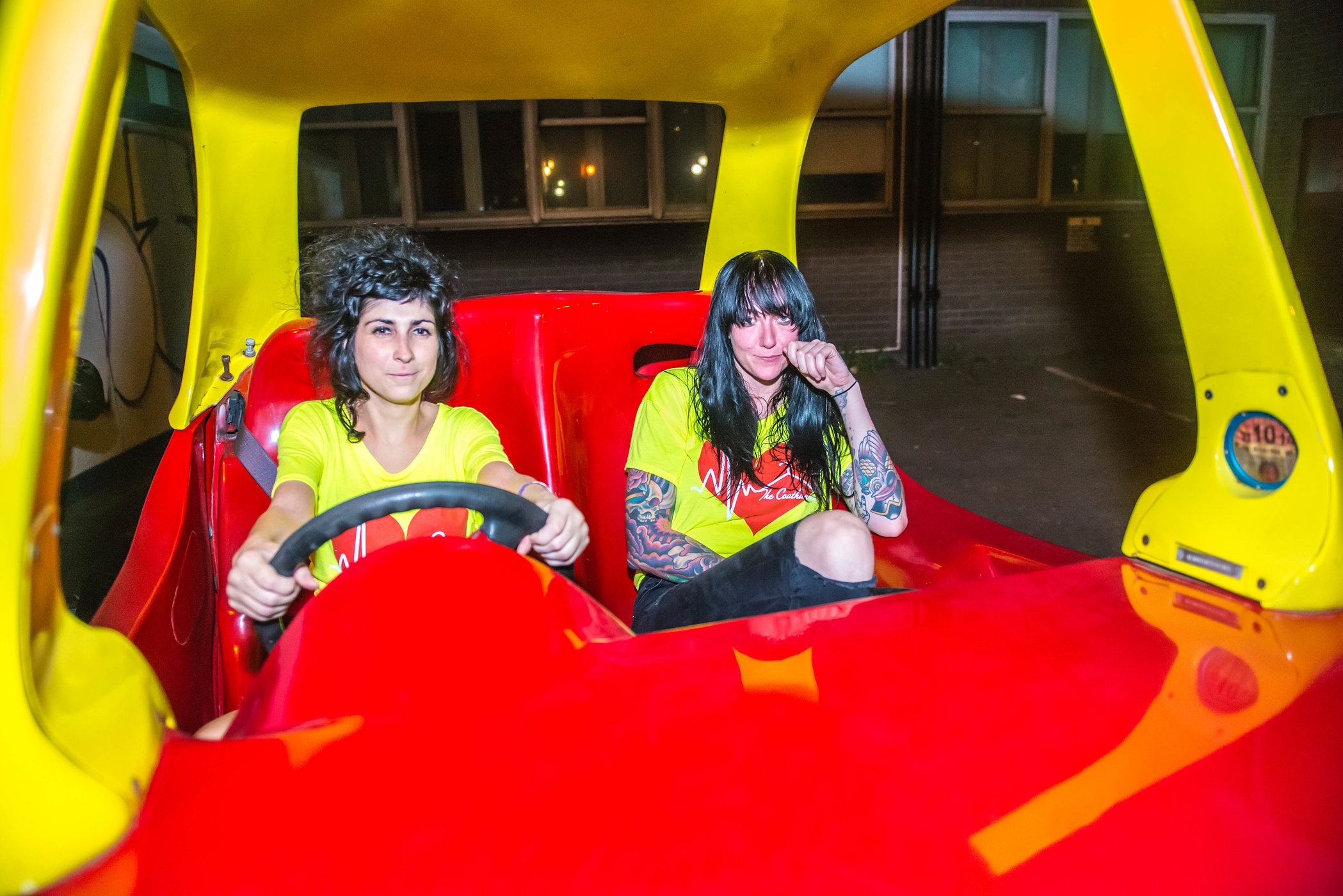 The Coathangers, May 2016