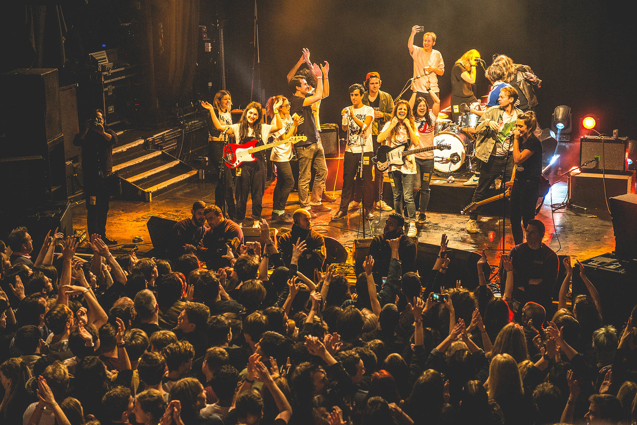 Hinds at KOKO, February 2016