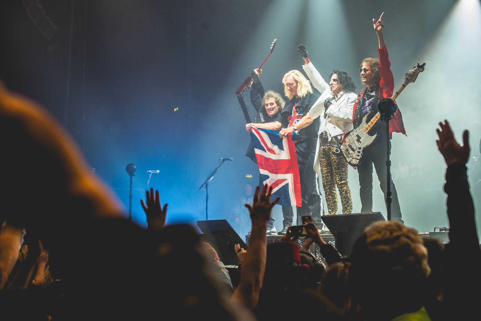 Alice Cooper at the SSE Wembley Arena in November 2017