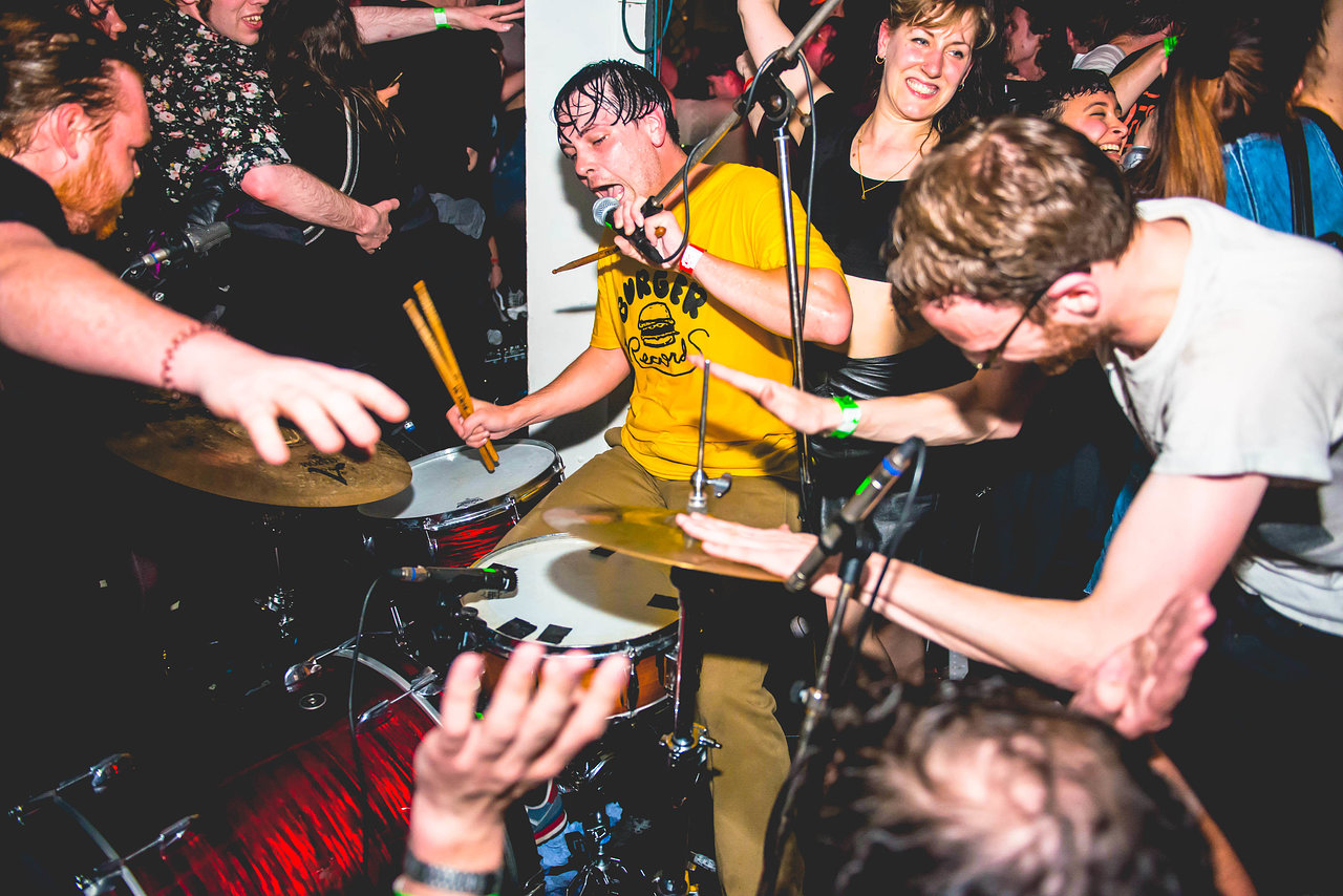 The Black Lips at the Fluffer Pit Party, May 2016
