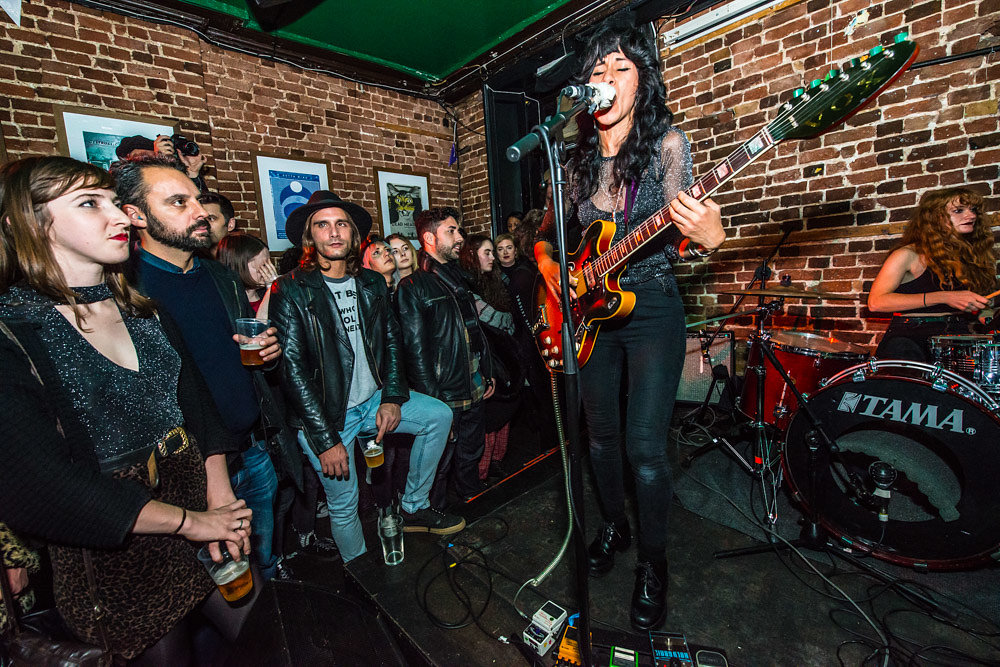 L.A. Witch at the Lock Tavern, November 2016