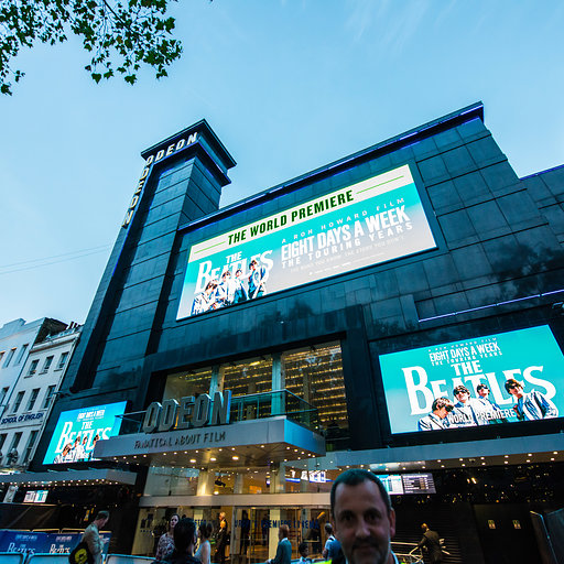The Beatles: Eight Days A Week world premiere at ODEON Leicester Square, London, September 2016