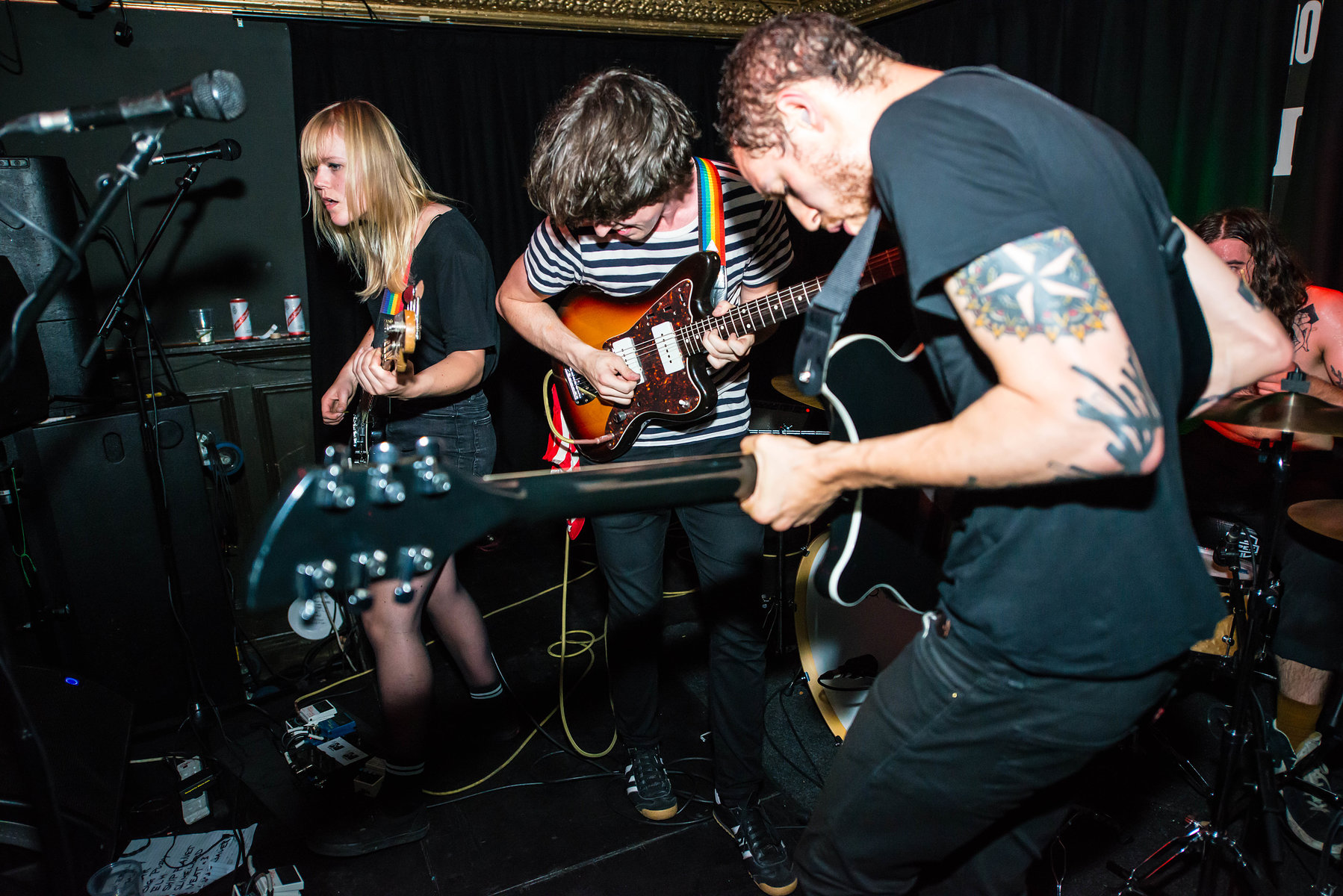 Thee MVPs at the Victoria, September 2016